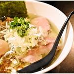 麺や勝治 - 特製青唐痛辛麺(激辛) 1050円 スパっと爽やか♪この感覚は新しい!