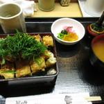もも瀬 - 穴子ばら揚げ丼 ¥1,400