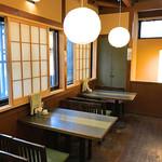 そば処 橋本 - 二階の席