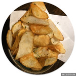 蕎麦酒肴 百景 - のり塩ポテト