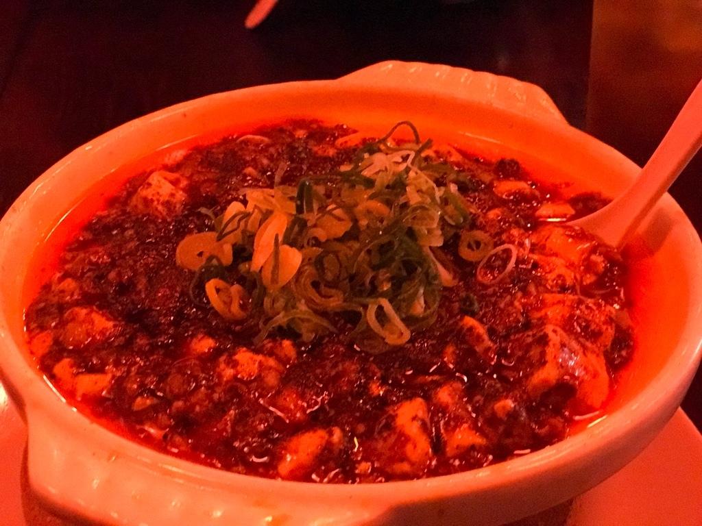 四川料理 芙蓉麻婆麺