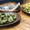まつ惣 - 料理写真:春野菜の浅漬け そら豆の塩茹で