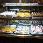 名曲・珈琲 新宿 らんぶる - ガラスケースのケーキたち