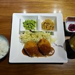 銀座2丁目ミタスカフェ - ホタテ入りバターコーンコロッケ