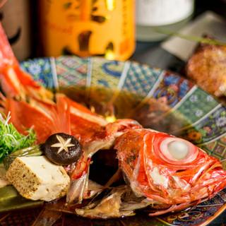 朝採れ鮮魚の味わいに舌鼓
