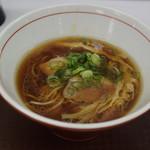 中村麺三郎商店 - 鴨と地鶏の醤油そば900円