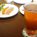 麦酒倶楽部 ポパイ - ドリンク写真: ゴールデンスランバーペールエール