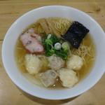 大和 - 特製ワンタン麺(白だし)