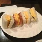 松岡珈琲店 - 卵サンド