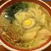 広州市場 - 料理写真:清湯海老雲呑麺(塩)