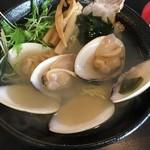 大漁亭 - 料理写真:蛤塩らーめん / 980円