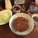 メンチケン - 特製醤油ダレ780円
