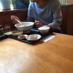 香湯ラーメン ちょろり - 正統派ランチ定食B