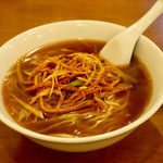 上海園 - 料理写真:ネギ麺