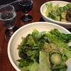 THE RIGOLETTO OCEAN CLUB - 料理写真:ランチサラダと一口ワイン     かわゆい^ ^ 友人へ進呈( i _ i )