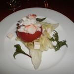 モンシャーレ - トマトのタラバ蟹詰サラダ仕立