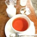 ウラエビス - ランチセットの紅茶♡