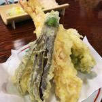 そば処 梅の花 - 天ぷら盛り合わせ