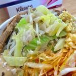 宮二郎 - 普通でもかなり野菜が入っています【料理】