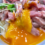 宮二郎 - 黄身を潰すと更に美味しそうになります【料理】