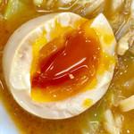 宮二郎 - 煮卵の黄身も完璧でした【料理】