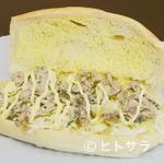 福田パン - 歯ごたえも最高の「れんこんしめじサンド」