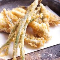 魚料理 ろっこん - 小魚天麩羅