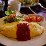 カフェ・デュ・シプレ - ふわふわ卵のオムライス