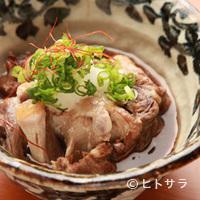 津山城下町 キタヤマ - 牛テールポン酢