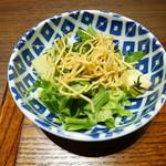 中国菜エスサワダ - 池上農園のグリーンサラダ