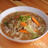 まる福 - 野菜ラーメン