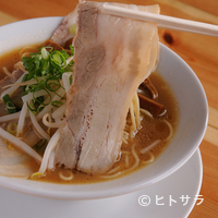 まる福 - チャーシュー麺 小:750円 中:850円 大:950円(税込)