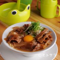 まる福 - 肉玉ラーメン 小:800円 中:900円 大:1000円(税込)