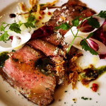 ウィズガーデン カフェ&レストラン - 料理写真:和牛ざぶとんのローストビーフ