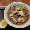 一寸亭 - 料理写真:冷たい肉そば