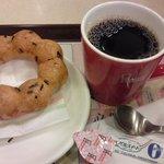 ミスタードーナツ - コーヒーと「ポン・デ・しょうゆ」