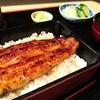 札幌のうなぎや - 料理写真:半身のうな重
