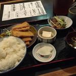 65330652 - ハムカツ定食(750円)