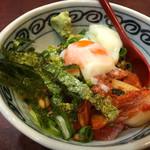 味楽座 - まぐろキムチ納豆