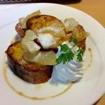 さっちゃんのママ - 料理写真:りんごのフレンチトースト