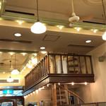 文明堂茶館 ル・カフェ - 螺旋階段で2階にも