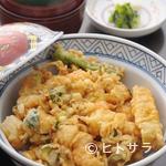 天布良 万喜 - 海老かき揚げ丼