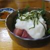 紀八 - 料理写真:まぐろ山かけ