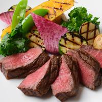 北海道トムラウンジファーム産 ジャージー牛もも肉のグリル