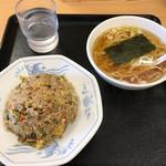 大盛軒 - チャーハン麺('17/04/12)