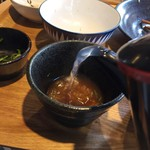 風鈴屋 - 蕎麦湯