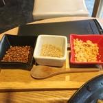 風鈴屋 - 蕎麦用の薬味