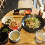 風鈴屋 - 皿そばランチ950円