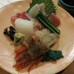 旬味 泰平 - 料理写真:御造り盛り合わせ