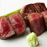 山形牛の真骨頂はシンプルなステーキで!